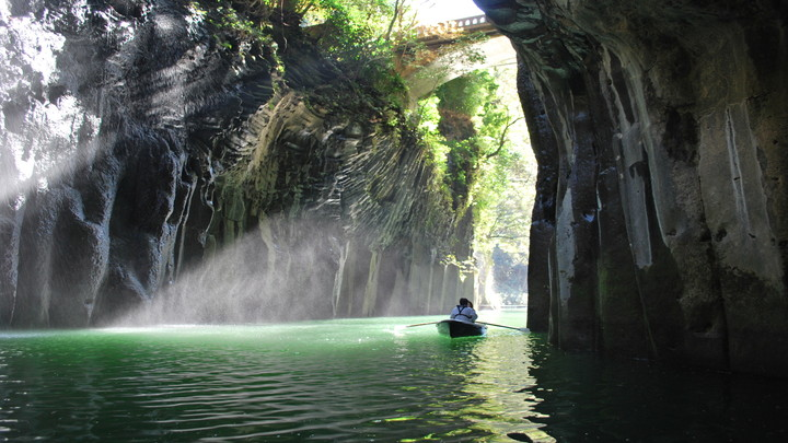 The birthplace of Japanese mythology, Takachiho in Miyazaki is one of the largest unexplored regions of Japan.